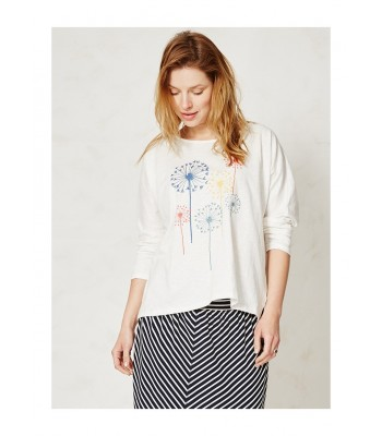 Braintree Blomst Organic Cotton T-Shirt