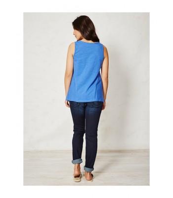 Braintree Thea Organic Cotton Singlet (Delft Blue)
