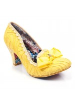 Irregular Choice Kanjanka (Yellow Glitter)