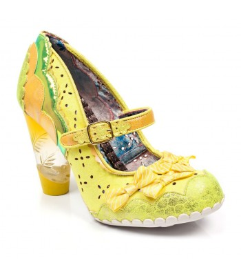 Irregular Choice Shoependous (Yellow)
