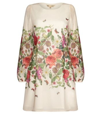Yumi Botanical Floral Dress