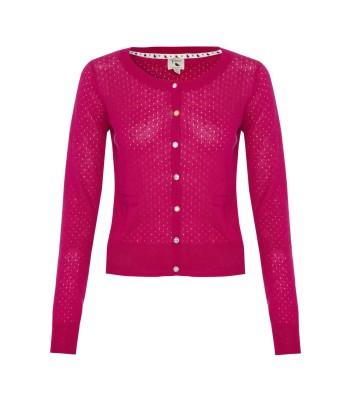 Yumi Classic Cardigan (pink)