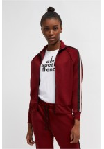 French Connection Yvonne Jersey Zip Up Jacket (Rosso Red)