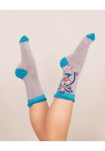 Powder A-Z Ankle Socks - Z