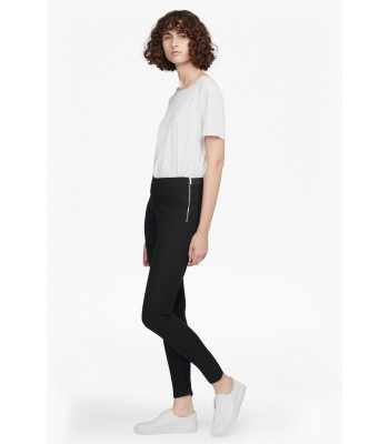 French Connection Street Twill Skinny Trousers (Black)